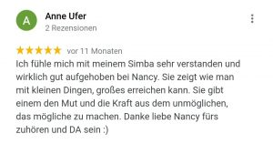 Welpentrainer Nancy Wendler